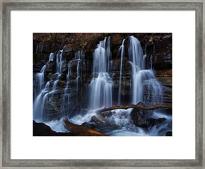 Middle Creek Falls Framed Print