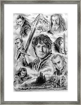 Middle Earth Framed Print by Andrew Read