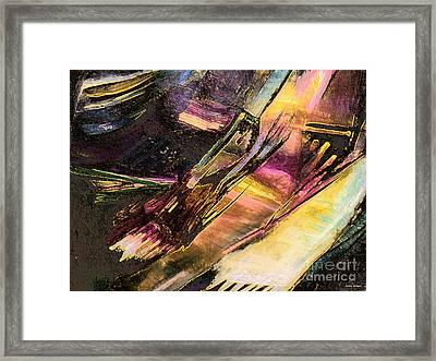 Middle Earth Framed Print by Sandra Gallegos