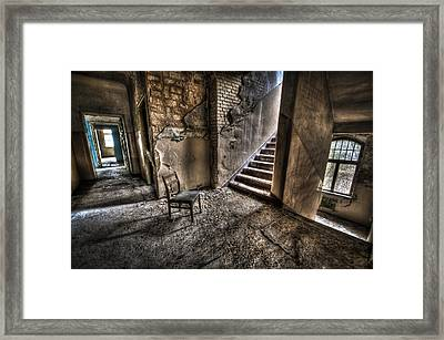Middle Floor Seating Framed Print