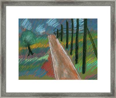 Middle Of Nowhere Framed Print