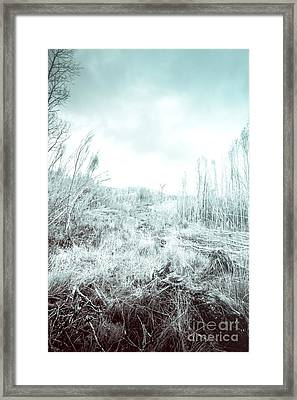Middle Of Snowhere Framed Print by Jorgo Photography - Wall Art Gallery