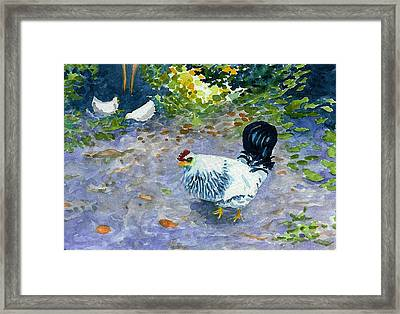 Middleboro Ruler Framed Print by Anne Marie Brown