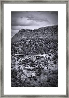 Midgley Bridge  Framed Print