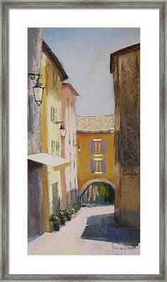 Midi In Valbonne Framed Print