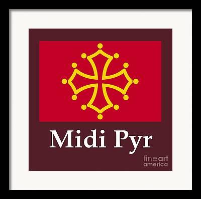 Midi Mixed Media Framed Prints