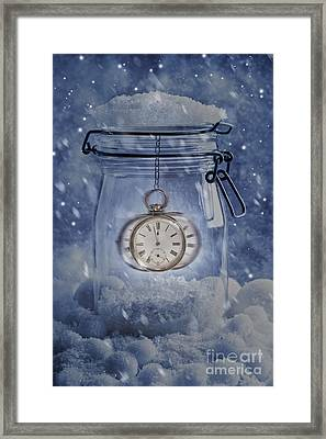 Midnight Framed Print by Amanda Elwell