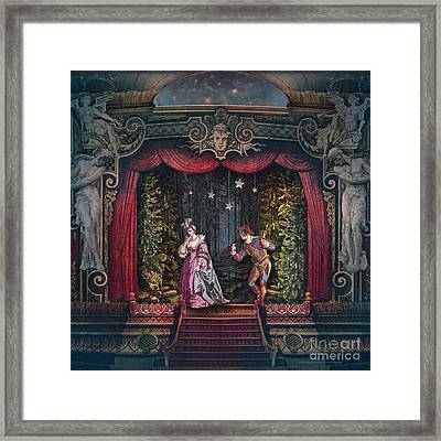 Midnight At La Fenice Framed Print by Silas Toball