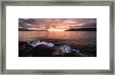 Midnight At Mannes Framed Print by Tor-Ivar Naess