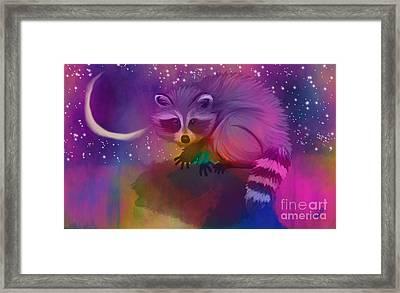 Midnight Bandit Framed Print by Nick Gustafson