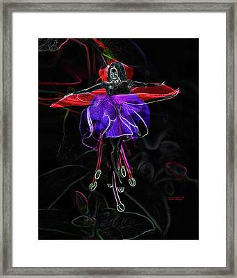 Midnight Bloom Framed Print by Torie Tiffany