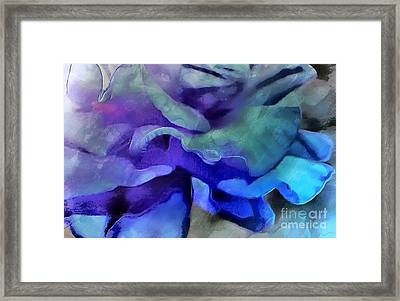 Midnight Blossom Framed Print by Krissy Katsimbras