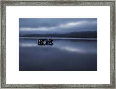 Midnight Blues Framed Print by Bragi Ingibergsson -