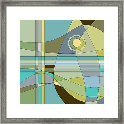 Midnight Breeze Framed Print