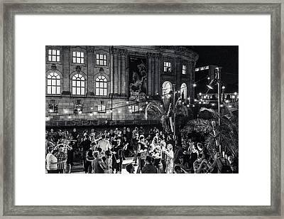 Midnight Dancing Framed Print by Ute Herzog