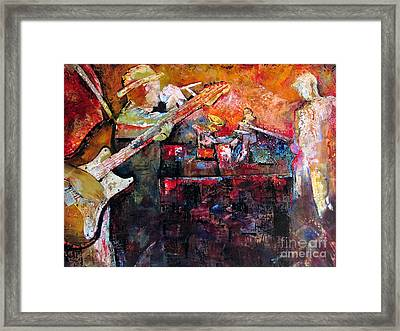 Midnight Ensemble Framed Print by Shadia Derbyshire