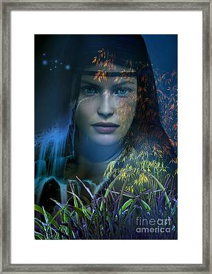 Midnight Gaia Framed Print