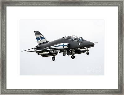 Midnight Hawk Framed Print