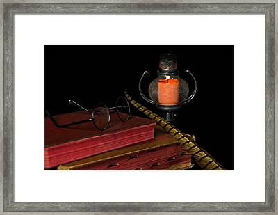 Midnight Hour Framed Print by Maria Dryfhout