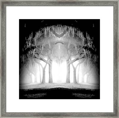 Midnight In My Mind Framed Print