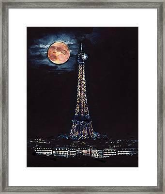 Midnight In Paris Framed Print