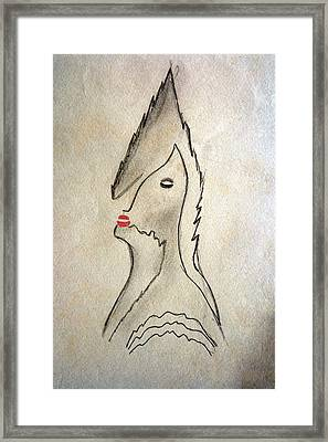 Midnight Kiss Framed Print by Carlos Vieira