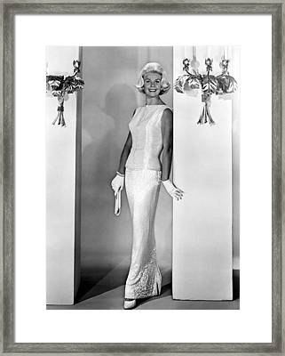 Midnight Lace, Doris Day, 1960, Evening Framed Print