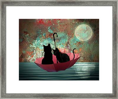 Midnight Love 2 Framed Print