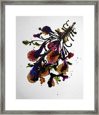 Midnight Magic-2 Framed Print by Alika Kumar