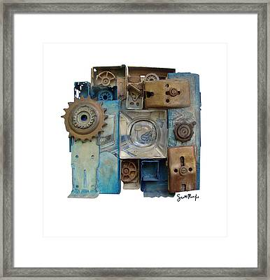 Midnight Mechanism Framed Print by Scott Rolfe