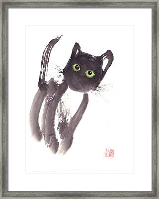 Midnight Framed Print by Mui-Joo Wee