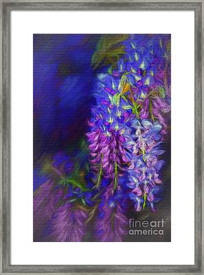Framed Print featuring the photograph Midnight Oil By Kaye Menner by Kaye Menner