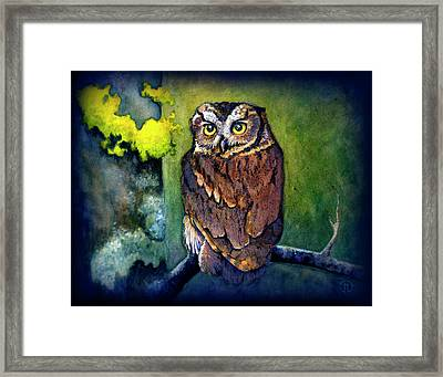 Midnight Owl Framed Print