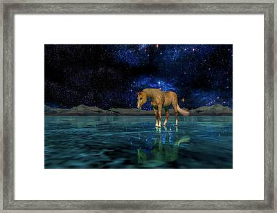 Midnight Religion  Framed Print