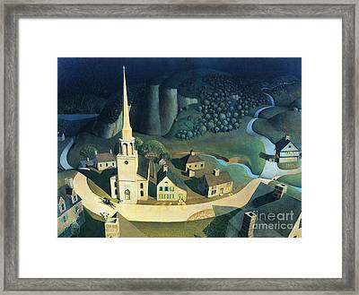 Midnight Ride Of Paul Revere Framed Print
