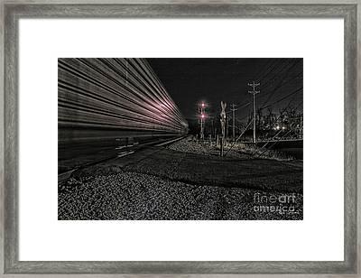 Midnight Rider Ir Framed Print