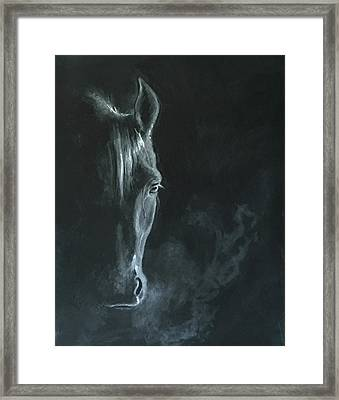 Midnight Rider Framed Print