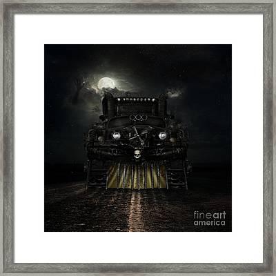 Midnight Run Framed Print by Shanina Conway
