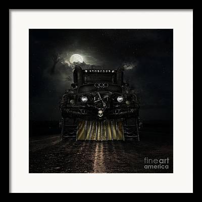 Monster Truck Framed Prints