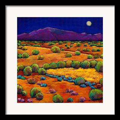 Bright Moon Framed Prints