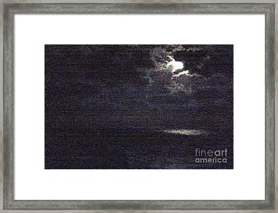 Midnight Framed Print by Priscilla Richardson