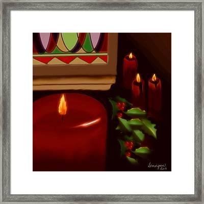 Midnight Service Framed Print