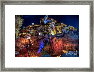 Midnight Splash Framed Print