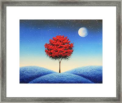 Midnight Story Framed Print by Rachel Bingaman