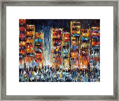 Midnight Strangers Framed Print