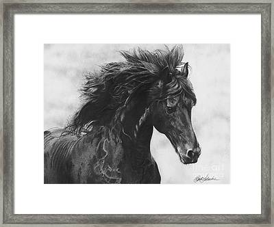 Midnight Thunder Framed Print
