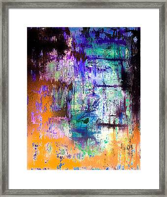 Midnight Train Goin Anywhere Framed Print by Wayne Cantrell