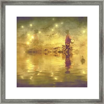 Midnight Treasure I Framed Print
