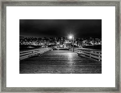 Midnight Walk Framed Print
