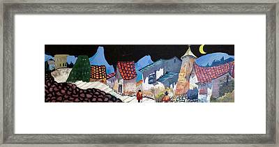 Midnight Walk In Peru Framed Print